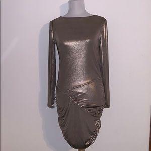Express Metallic Dress